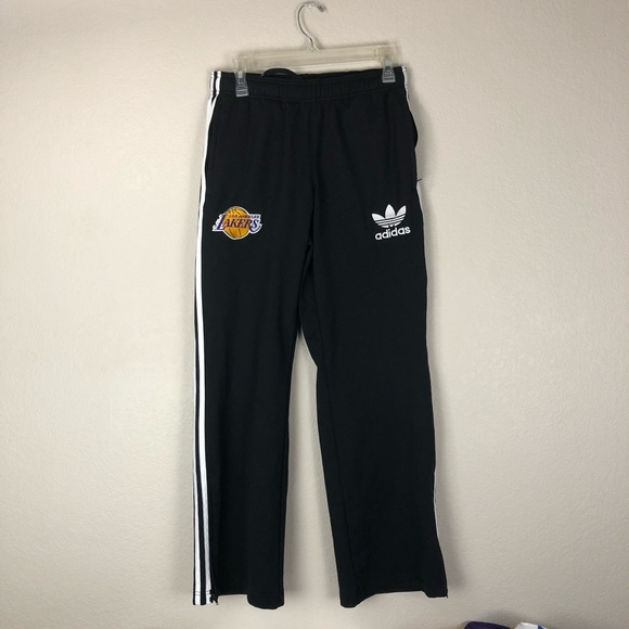 adidas Other - Adidas Lakers Sweatpants Zipper Pockets Small